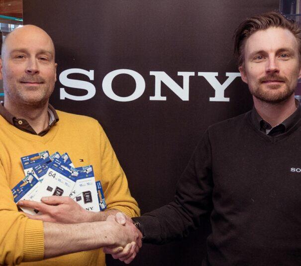 Sony Sponsorerer