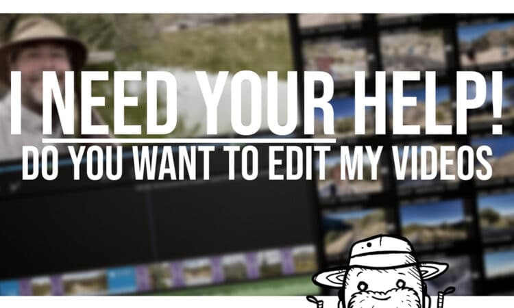 Do you want to edit my CDT trail videos