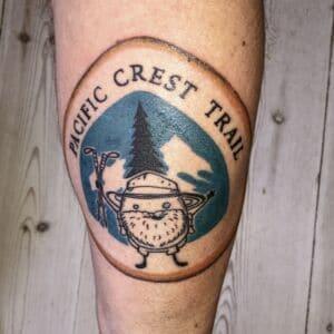 PCT Thru-hike Tattoo