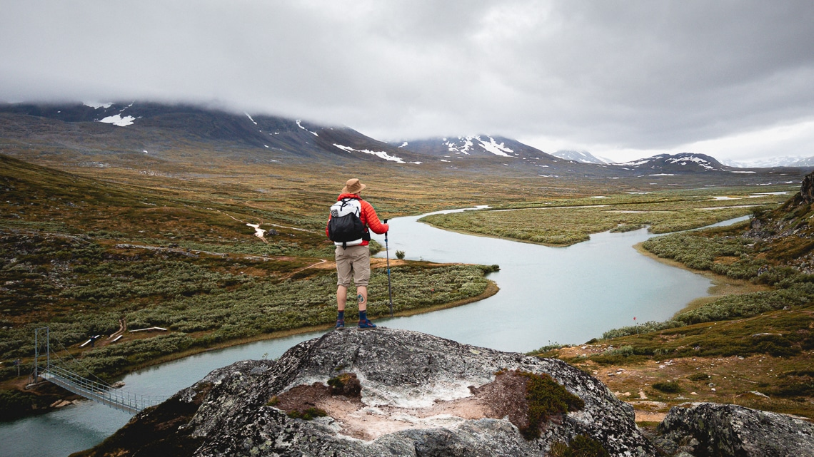 My thruhike of the Kungsleden (King's Way)