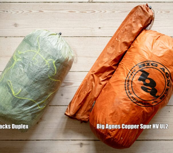 Copper Spur Vs Duplex tent comparison